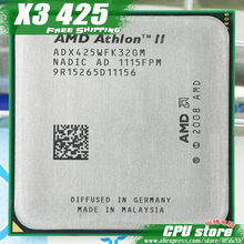 AMD Athlon II  X3 425 CPU Processor Triple-Core (2.7Ghz/ L2=2M /95W / 2000GHz) Socket am3 am2+ free shipping 938 pin sell X3 435