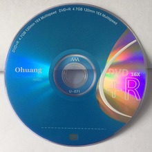 Wholesale 10 discs Grade AA Blue Silver 16x 4.7GB Blank DVD+R(China)