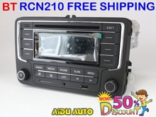 USED RCN210 Bluetooth MP3 USB Player CD MP3 Radio FOR VW  Golf 5 6 Jetta Mk5 MK6 Passat B6 CC B7