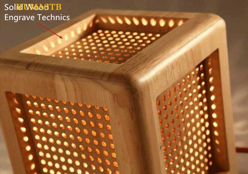 Wood Desk Lamp 7