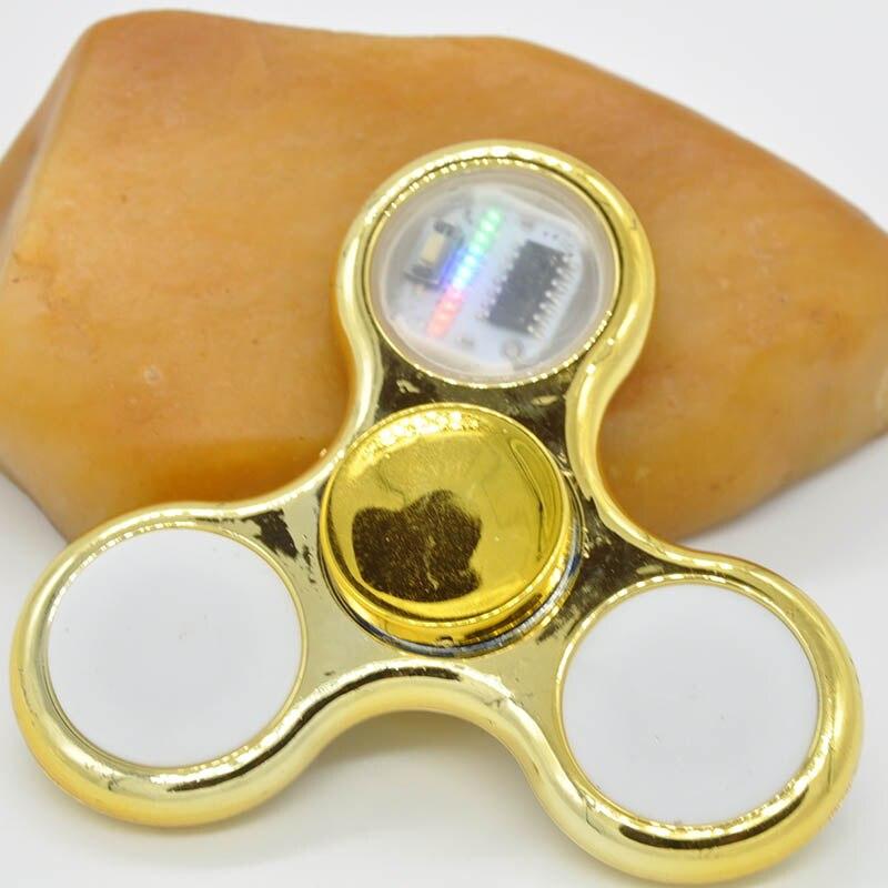 Light Fidget Spinner Led Stress Hand Spinners15