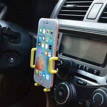 Universal Air Vent Mount Stand Cradle Support Telephone Mobile Phone Car Holder Case for iPhone Samsung galaxy s5 huawei p8 lite
