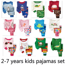 SMHONG Retail 2 pcs set new 2017 brand babys cotton superman sleepwear boys  pyjamas girls spiderman clothing kids pajama set