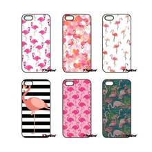 For HTC One M7 M8 M9 A9 Desire 626 816 820 830 Google Pixel XL One plus X 2 3 Pink Cute Bird flamingo Painted Pattern Phone Case