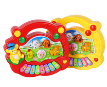 2017 Music Songs New Useful Popular Baby Kid Animal Farm Piano Music Toy Kids Educational Toy Lowest Prcie Wholesale