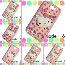 3D cartoon Case For Samsung Galaxy Note II N7100 cute Hello Kitty Case Cover For Samsung Note 2 soft rubber KT cat phone cases