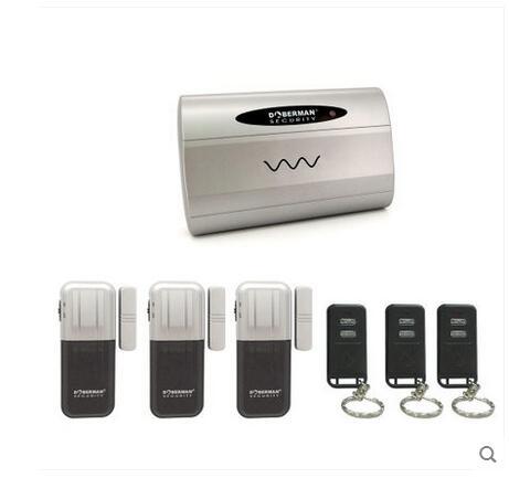 Villa protection Security Wireless Alarm Security Alert kit(1 alarm controller+3 door window alarm sensor+3 remote controls)<br>