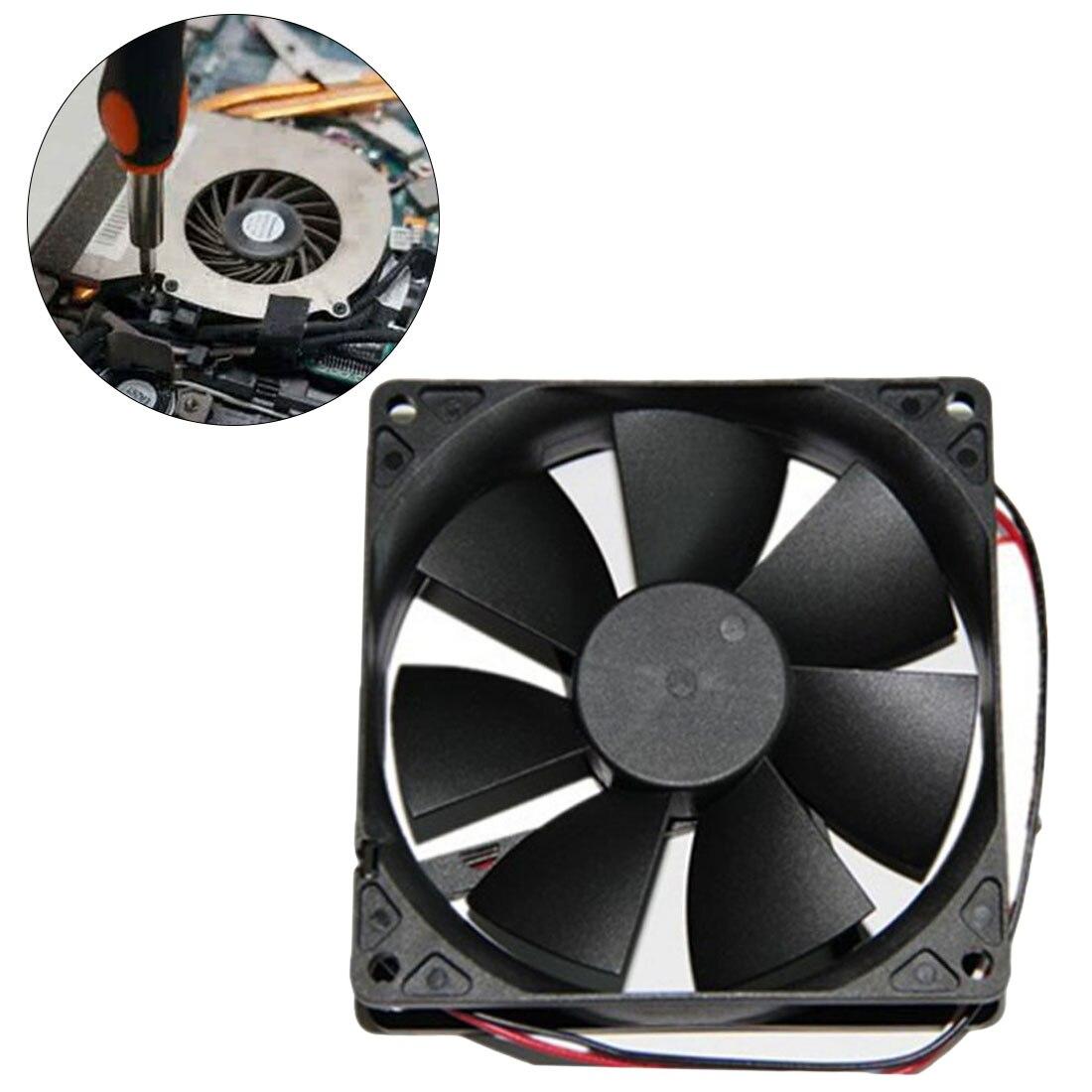 Blue LED Case Fan 12V 4Pin 80mm 80x25mm For Computer PC Host CPU Cooling Cooler