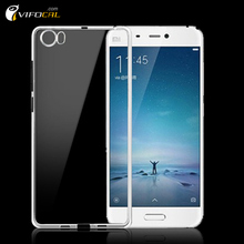 Xiaomi Mi5 Case Silicon Soft Clear Protective TPU Silicone Back Cover For Xiaomi Mi5 M5 Mi 5 Pro Prime Mobile Phone
