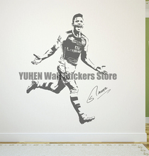 Alexis Sanchez Wall Decal Sticker FC Arsenal Football Soccer Player Chile