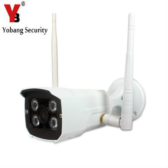 YobangSecurity Home Surveillance Camera Wireless Outdoor IP Camera with APP,Motion Detection,Night Vision,Remote Viewing<br>