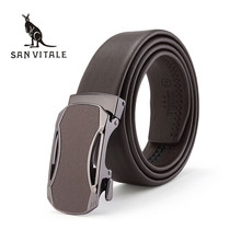 Buy Belt Men Belts Genuine Leather Elastic Straps Large Size Buckle Cowskin 2018 New High Reversible Designer Casual for $12.34 in AliExpress store
