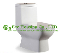 Sanitary ware One Piece Toilet Dual Flush Ceramic Wc Toilet with Siphon Flushing
