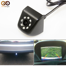 New Classic CCD HD Car Rear View Camera 140 Degree Wide Angle Real Waterproof 8 LED Night Vision Parking Reversing Assistance(China)