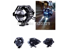 Motorcycle LED Driving Spot Light Lamp Headlight for Yamaha FZ MT TDM TNT TRE V-max XJ XJR YZF XS650(China)