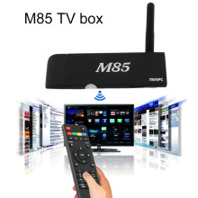M85 Android 4.4 TV Box Amlogic S805,Cortex A5,4 CPU(1.5GHZ)Dual Band Wi-Fi (2.4GHz) Bluetooth 4.0 1GB/8GB Flash US plug