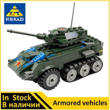 KAZI Armored vehicles Compatible Military 81003 Buidling Block Set Brand new Educational Toys for Boys(China)