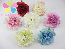 12pcs/lot Approx 5.5cm Artificial Flower Head Handmade Home Decoration DIY Event Party Supplies Wreaths 027017041