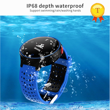 best selling Smart Bracelet Blood Pressure Smart band IP68 Summer Swimming Heart Rate Monitor Fitness Activity Tracker wristband(China)