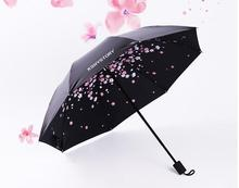 2016 Dual sun sunny umbrella lightweight vinyl umbrellas umbrella folding umbrella female UV free shipping  LH851