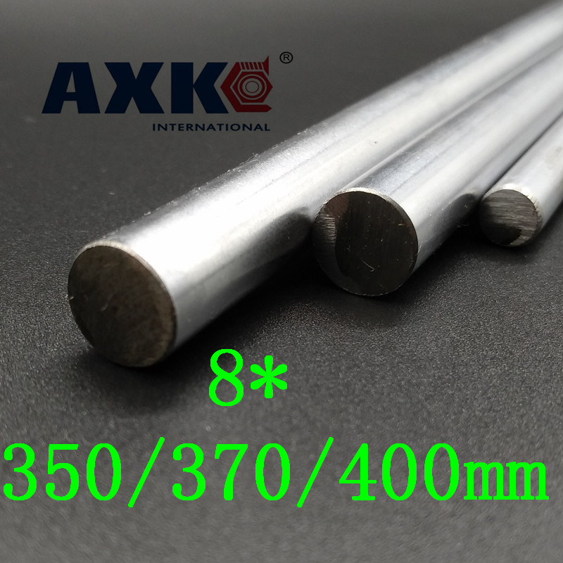 AXK 8mm smooth rods,Linear Shaft Optical Axis chrome plated<br>