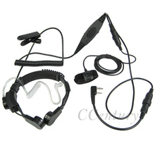 FBI VOX Military Tactical Throat Mic Headset for Baofeng Portable CB Radio UV-5R UV-5RE Plus UV-3R+ BF-888S BF-480 UV-B5 GT-3(China)