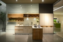 High gloss/lacquer kitchen cabinet mordern(LH-LA098)