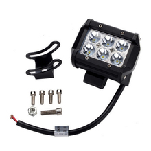 2PCE!!Hot Sale Daytime Running light 18W Led Lihgt Bar For Offroad Boat Car Tractor Truck 4x4 SUV ATV 9~32V LED Driving LED Lamp(China)