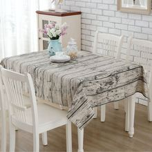3D Wood Table Cover Linen Table Cloth Europe Home Outdoor Party Toalha De Mesa Manteles Para Mesa Nappe De Table Tablecloth