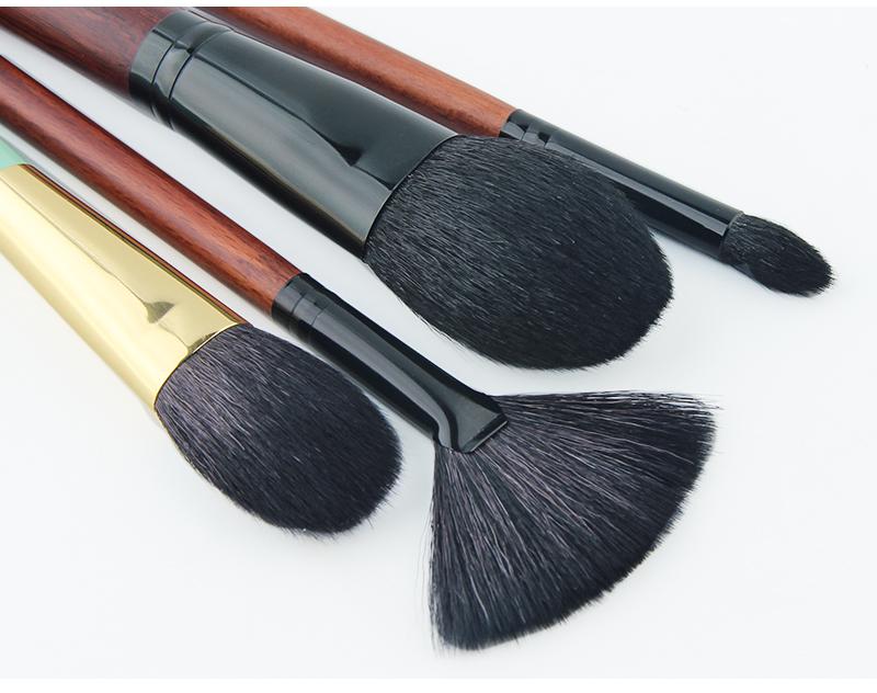 Anmor Acheter 3 Obtenir 1 Cadeau Professionnel Pinceaux de Maquillage Kit Poudre Blush Brosses de Ventilateur avec un cadeau fard à paupières brush set 7