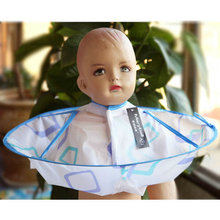 Baby Children Kids Hair Cutting Cape Gown Salon Hairdresser Barber Apron Styling Tools LS4