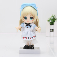 Alice in Wonderland Alice Nendoroid Action Figure Real Clothes Ver. Alice Doll PVC figure Toy Brinquedos Anime 10CM