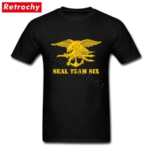America Navy Seal Team Six Tee Family 3D Print Shirt Man Short Sleeved Fashion Brand T-shirt Army Logo Top Apparel(China)