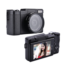 "Digital camera 24MP 4X Zoom 3"" Rotate the screen Self-timer cameras 1080P HD camcorder 52mm Lens Video Recorder Camcorder"