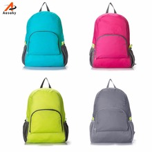 backpack Ausuky Brand Women Men Backpack Riding Back Pack Bag Ultra Light Folding Backpack Travel Nylon Bagpack Shoulder Bags 45