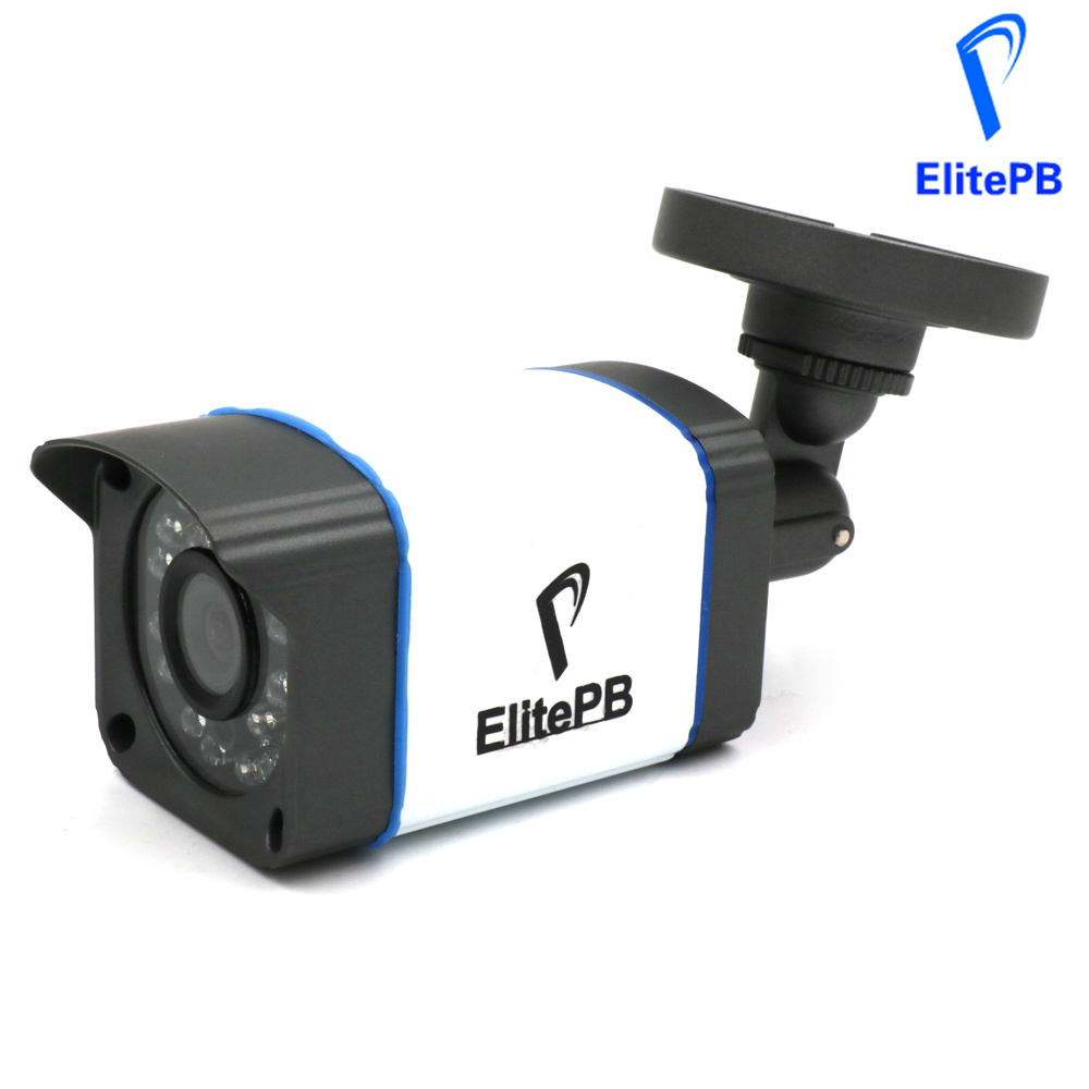 ElitePB IP Camera 2MP Full HD 1080p Security Onvif 2.0 CMOS IR Night Vision H.264 Waterproof Outdoor PoE CCTV Camera<br>
