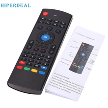 High Quality USB LED 2.4G Remote Control Air Mouse Wireless  For XBMC Android Mini PC TV Box_KXL0308