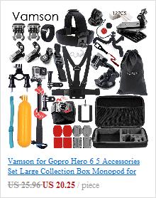 New Go Pro Accessories Mini Scalable Monopod Tripod For GoPro Hero 5 4 3+ 2 Sj4000  Xiaomi Yi Action Camera VP413