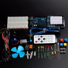 2016 Starter Kit  UNO R3 and Sensor Mini Breadboard LED Jumper Wire Button for Arduino