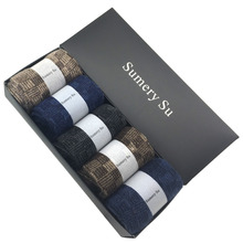 5 Pairs/Lot 2017 Brand Fashion Wool Socks Men Winter Cashmere Breathable Socks Meias Men Hot Sale(China)