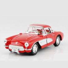 Kinsmart 1:34 Simulation Vintage Car Model Toy, Die cast Metal 1957 Classic Cars For Collection, Kids Toys, Juguetes Gift