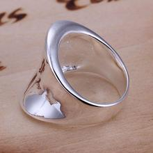 1 Piece New Fashion  Fine Finger Rings Fashion Thumb Ring Women Men Silver Plated Ring Gift For Silver Jewelry