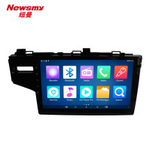 4G HD 24 hours live broadcast android 5.0 DVR bluetooth wifi 10.1 inch for Honda Fit 14-16 intelligent car music system(China)