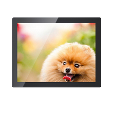 "M121-EF02C/12.1 inch 1400*1050 Capacitive Touch HD LCD Monitor Built-in Speakers 12.1"" Metal&Aluminum Case Touchscreen Monitor"
