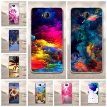 Flower Case For Nokia lumia 650 TPU Cover + Silicon Soft Cover For Microsoft Lumia 650 Case Coque for Nokia Microsoft Lumia 650