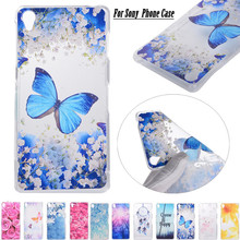 Luxury Cell Phone Case Cover For Sony Xperia X Compact / XZ Transparent Soft Silicone TPU Cover For Sony Xperia Z3 / Z5 Funda