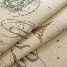 1.5m wide,cloth sofa linen fabric rustic print fabric handmade diy table cloth sofa background cloth 092