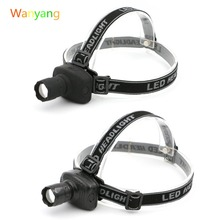 2016 New Head Torch Headlamp 600 Lumens 3-Mode LED Light Headlight Lamp Flashlight Lanterna for Outdoor Camping Hunting Fishing