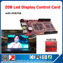 Free ship video control card 320*512pixel Z0B asynchronous led display controller card video wall indoor outdoor led signboard(China)