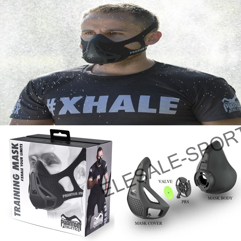 Dropshipping Newest Training Sport Phantom Mask 2.0 For Men Fitness Or Outdoor Sport With Box Logo <br><br>Aliexpress
